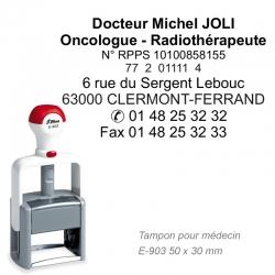 Tampon Médecin PRO E-903