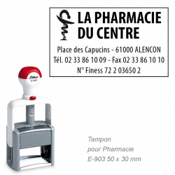 Tampon Pharmacie PRO E-903