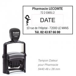 Tampon dateur PRO 5440 pour Pharmacie