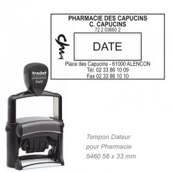 Tampon dateur PRO 5460 pour Pharmacie