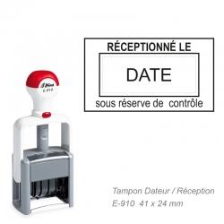 Tampon dateur PRO E-910 pour Pharmacie