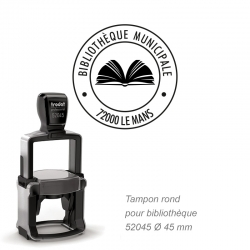 Tampon PRO 52045 Bibliothèque / Livre