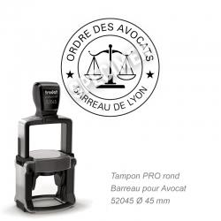 Tampon Avocat PRO - Sceau Ordre des avocats / Barreau