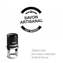 Tampon « Savon artisanal »