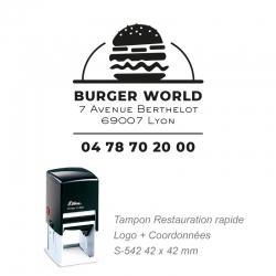 Tampon Snack / Restauration rapide