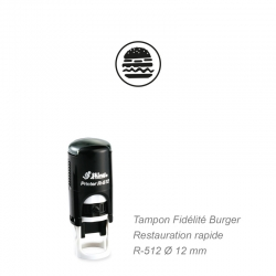 Tampon Fidélité Snack / Hamburger