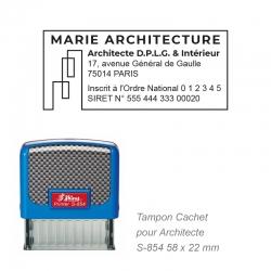 Tampon Architecte
